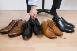Der passende Schuh für die Disco
