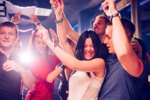 Frauen Tanzen Lernen in der Disco