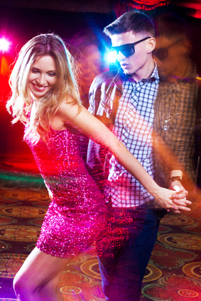 In der disco flirten mann